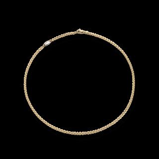 Fope Halskette Eka Tiny Gelbgold 730C-430_GG