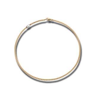 Fope Halskette Eka Tiny Gelbgold 730C-600_GG