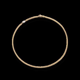 Fope Halskette Eka Tiny Gelbgold 730C-800_GG