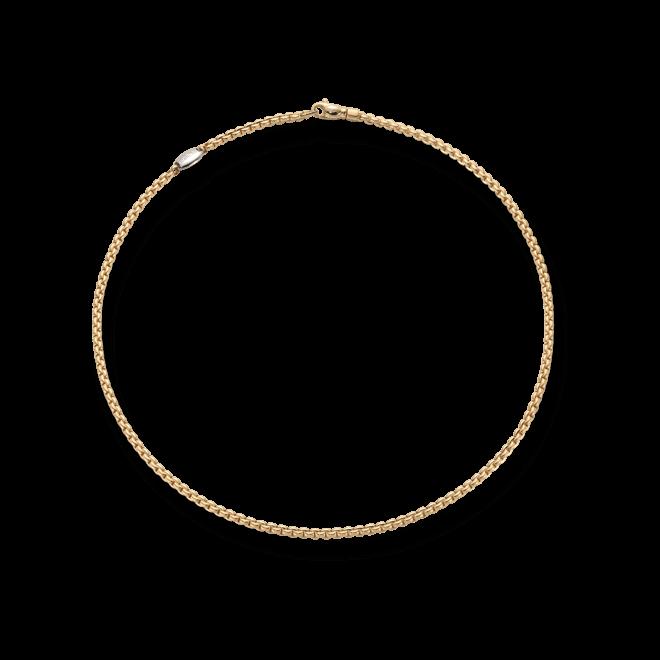 Halskette Fope Eka Tiny Gelbgold aus 750 Gelbgold