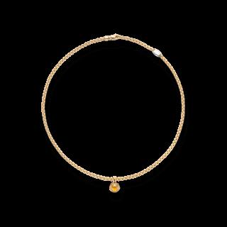 Fope Halskette Eka Tiny Gelbgold 731C-CIT-500_GG