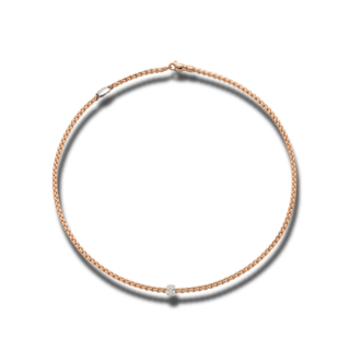 Fope Halskette Eka Tiny Roségold 730C-PAVE-800_RG
