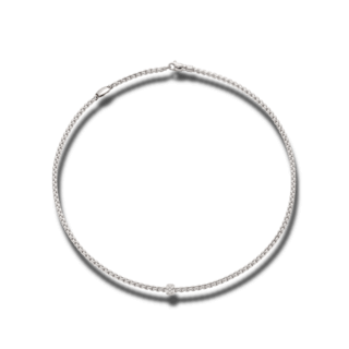 Fope Halskette Eka Tiny Weißgold 730C-PAVE-600_WG