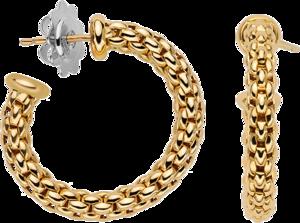 Creole Fope Essentials aus 750 Gelbgold und 750 Weißgold