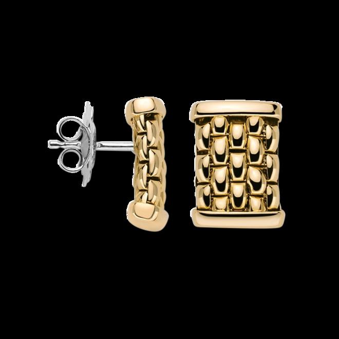 Ohrstecker Fope Essentials aus 750 Gelbgold und 750 Weißgold bei Brogle