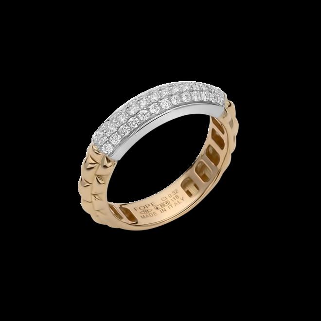 Ring Fope Eka Anniversario aus 750 Roségold und 750 Weißgold mit mehreren Brillanten (0,32 Karat) bei Brogle