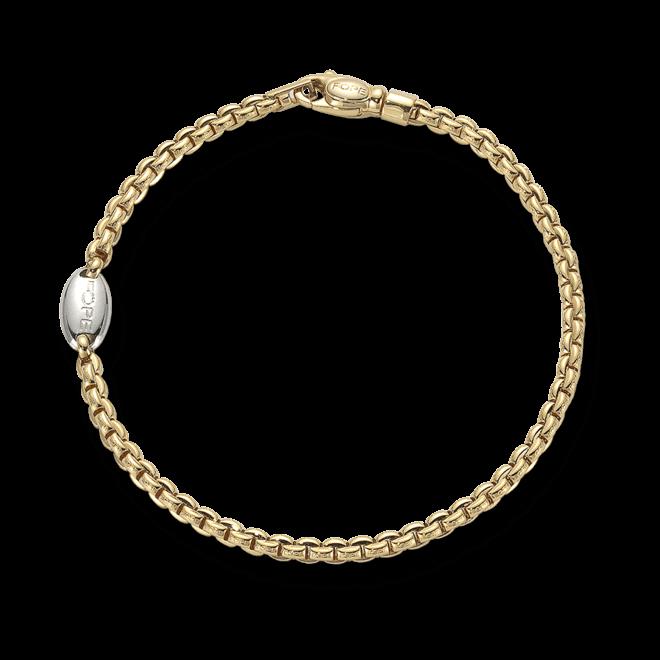 Armband Fope Eka aus 750 Gelbgold und 750 Weißgold