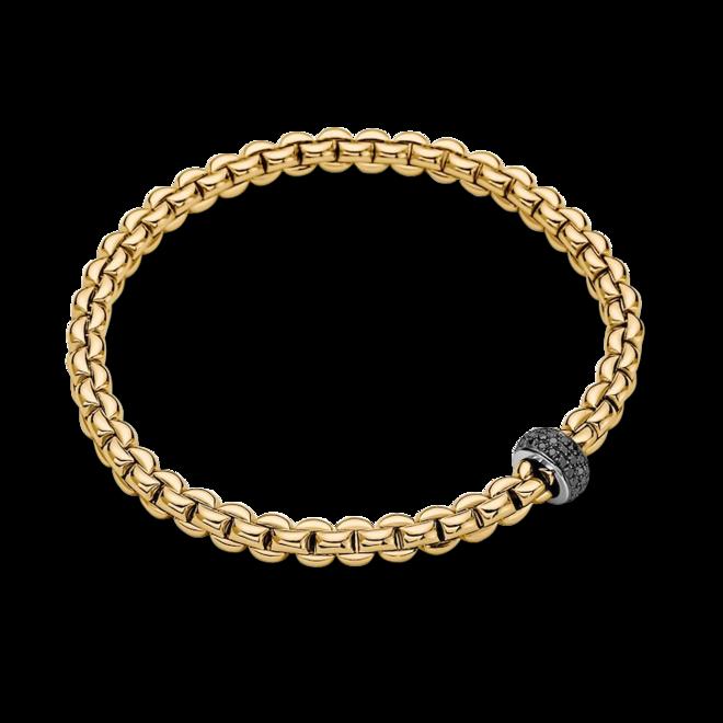 Armband Fope Eka Flex'it aus 750 Gelbgold und 750 Weißgold mit mehreren Brillanten (0,41 Karat) Größe S bei Brogle