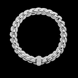 Fope Armband Flex'it Eka Anniversario 607B-PAVEM_WG