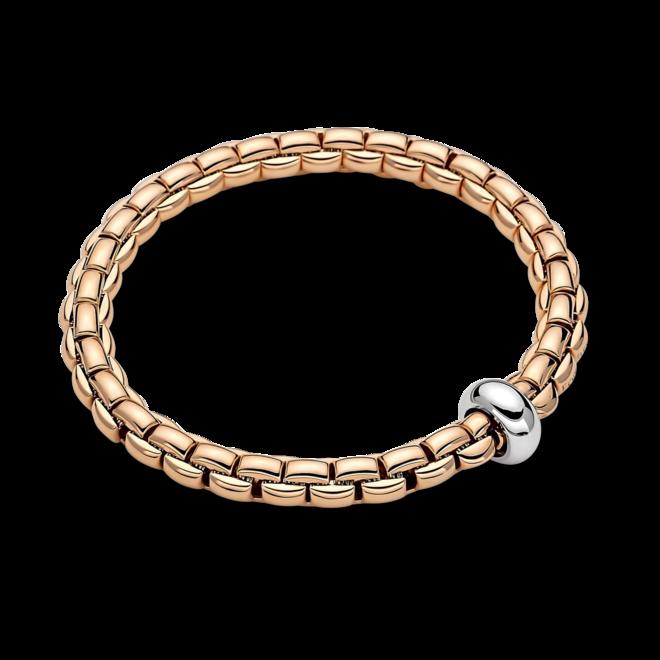 Armband Fope Flex'it Eka Anniversario aus 750 Roségold und 750 Weißgold Größe S
