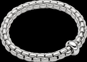 Armband Fope Flex'it Eka Anniversario aus 750 Weißgold Größe S