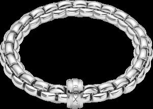 Armband Fope Flex'it Eka aus 750 Weißgold Größe S