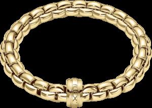 Armband Fope Flex'it Eka aus 750 Gelbgold Größe XS