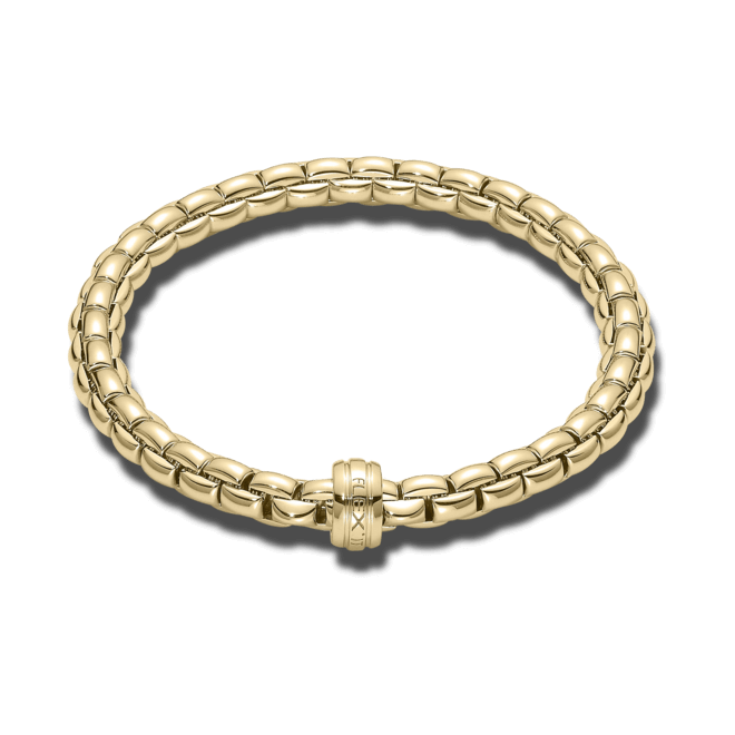 Armband Fope Flex'it Eka aus 750 Gelbgold Größe L bei Brogle