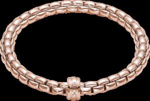 Armband Fope Flex'it Eka aus 750 Roségold Größe XS