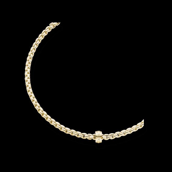 Halskette Fope Flex'it Eka aus 750 Gelbgold