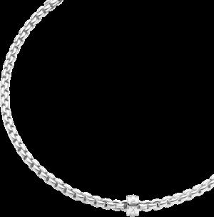 Halskette Fope Flex'it Eka aus 750 Weißgold