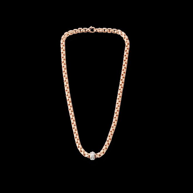 Halskette Fope Flex'it Eka aus 750 Roségold mit mehreren Brillanten (0,18 Karat) bei Brogle
