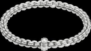 Armband Fope Flex'it Olly aus 750 Weißgold Größe S