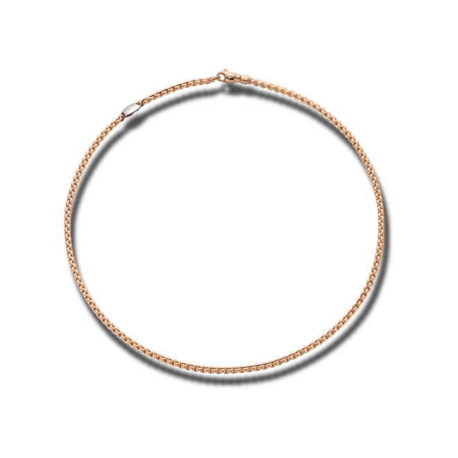 Halskette Fope Eka aus 750 Roségold und 750 Weißgold bei Brogle