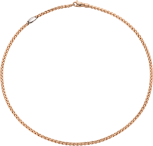 Halskette Fope Eka aus 750 Roségold und 750 Weißgold