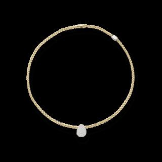 Fope Halskette Eka 733C-PAVE-430_GG