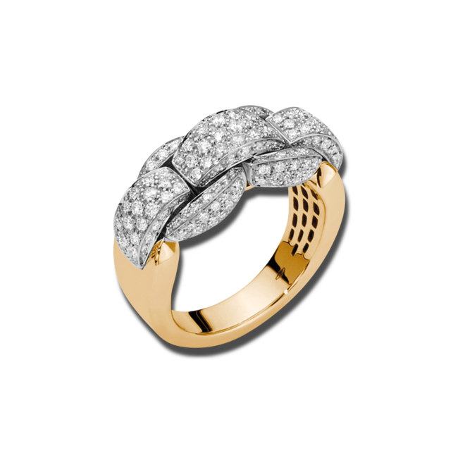 Ring Fope Eka Mialuce aus 750 Gelbgold mit mehreren Brillanten (1,15 Karat) bei Brogle