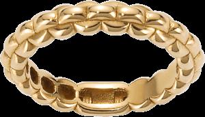 Ring Fope Eka aus 750 Gelbgold