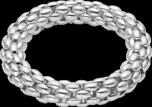Armband Fope Fopetwin Air aus 925 Silber mit Palladiumbeschichtung Größe L