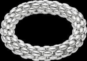 Armband Fope Fopetwin Air aus Silber mit Palladiumbeschichtung Größe M