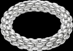 Armband Fope Fopetwin Air aus 925 Silber mit Palladiumbeschichtung Größe XL