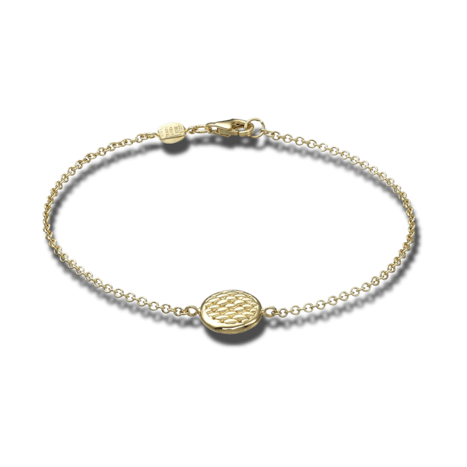 Armband Fope Fope Lovely Daisy aus 750 Gelbgold