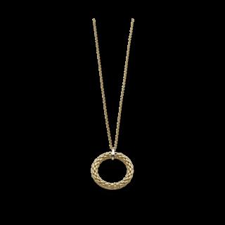 Fope Halskette mit Anhänger Lovely Daisy Gelbgold 22C-500_GG