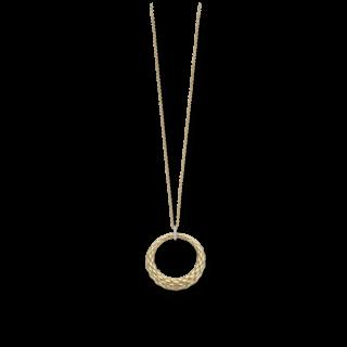 Fope Halskette mit Anhänger Lovely Daisy Gelbgold 25C-BBR-600_GG