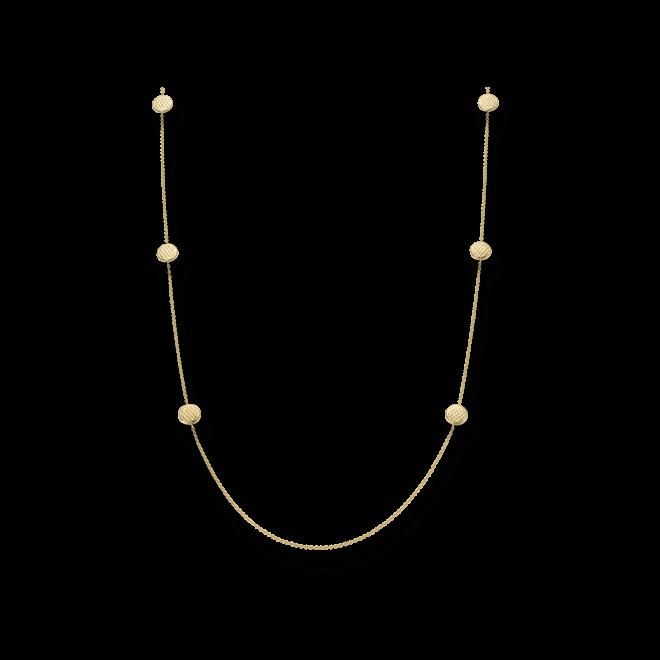 Halskette Fope Lovely Daisy aus 750 Gelbgold