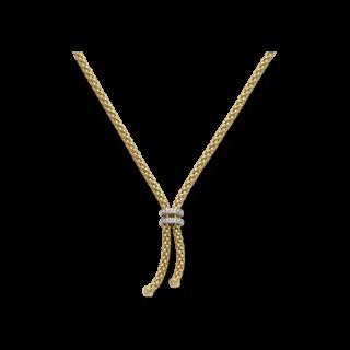 Fope Halskette mit Anhänger Gelbgold 809-BBR_GG