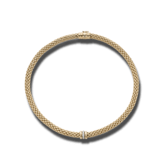 Fope Halskette Flex'it Love Nest Gelbgold 451C-BBR_GG