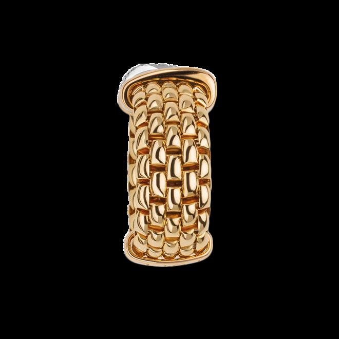 Ring Fope Panorama Flex'it aus 750 Gelbgold und 750 Weißgold mit mehreren Brillanten (0,08 Karat) Größe S (49-53) bei Brogle