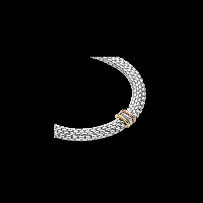 Halskette mit Anhänger Fope Panorama aus 750 Weißgold, 750 Gelbgold und 750 Roségold bei Brogle
