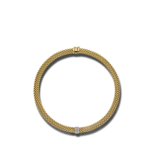 Fope Halskette mit Anhänger Panorama 587C-PAVE-420_GG