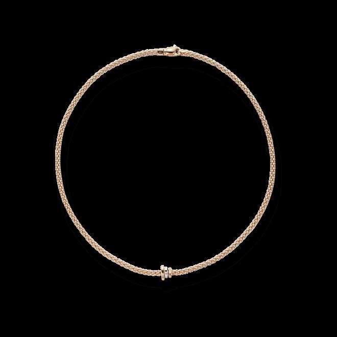 Halskette Fope Flex'it Prima aus 750 Roségold, 750 Weißgold und 750 Gelbgold bei Brogle