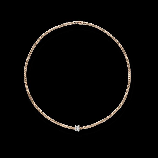 Halskette Fope Flex'it Prima aus 750 Roségold mit mehreren Brillanten (0,31 Karat) bei Brogle