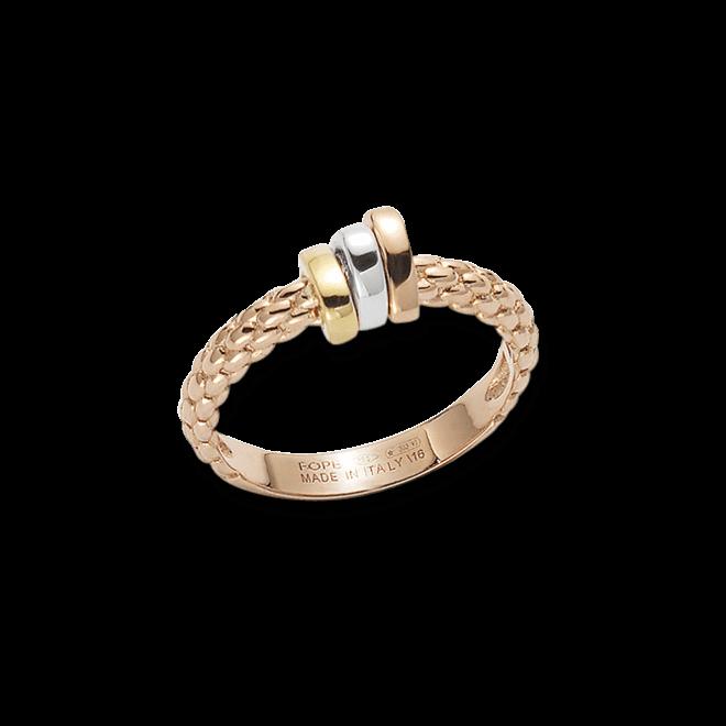 Ring Fope Flex'it Prima aus 750 Roségold, 750 Weißgold und 750 Gelbgold bei Brogle
