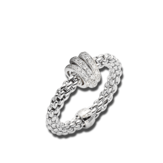 Fope Ring Flex'it Prima AN744-PAVEM_WG