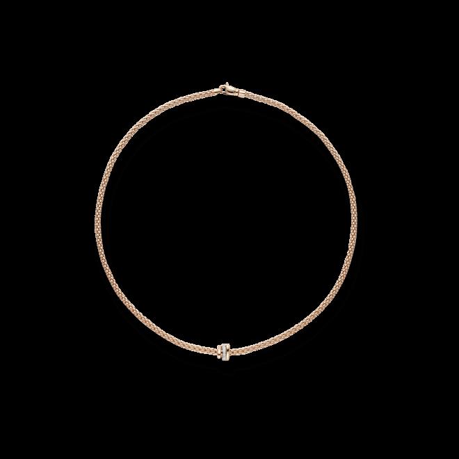 Halskette Fope Prima aus 750 Roségold mit mehreren Brillanten (0,1 Karat) bei Brogle