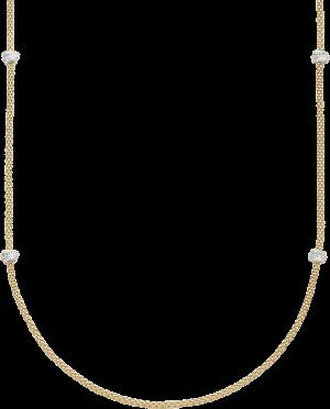 Halskette Fope Prima aus 750 Gelbgold und 750 Weißgold mit mehreren Brillanten (1,24 Karat)