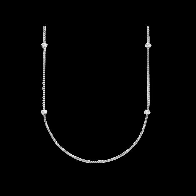 Halskette Fope Prima aus 750 Weißgold mit mehreren Brillanten (1,24 Karat)