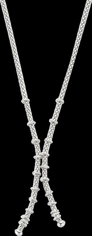 Halskette Fope Prima aus 750 Weißgold mit mehreren Brillanten (0,3 Karat)
