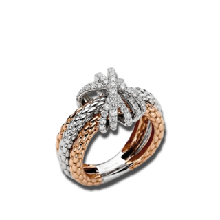 Fope Ring Prima Mialuce AN752-PAVE_RGWG
