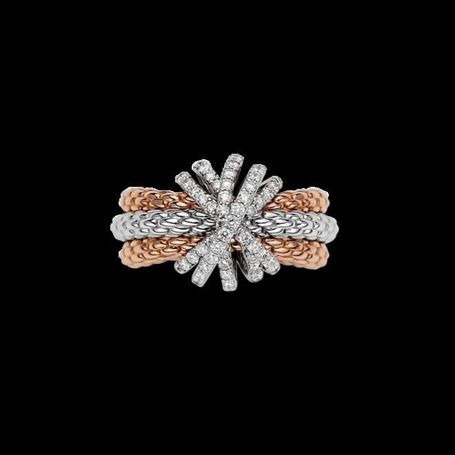 Ring Fope Prima Mialuce aus 750 Roségold und 750 Weißgold mit mehreren Brillanten (0,88 Karat) bei Brogle